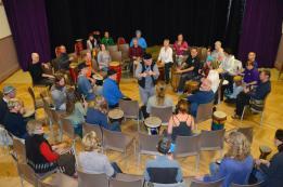 Community Drum Circle, Biggar